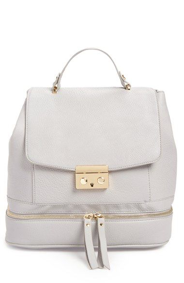 Amici Accessories Faux Leather Backpack Available At Nordstrom