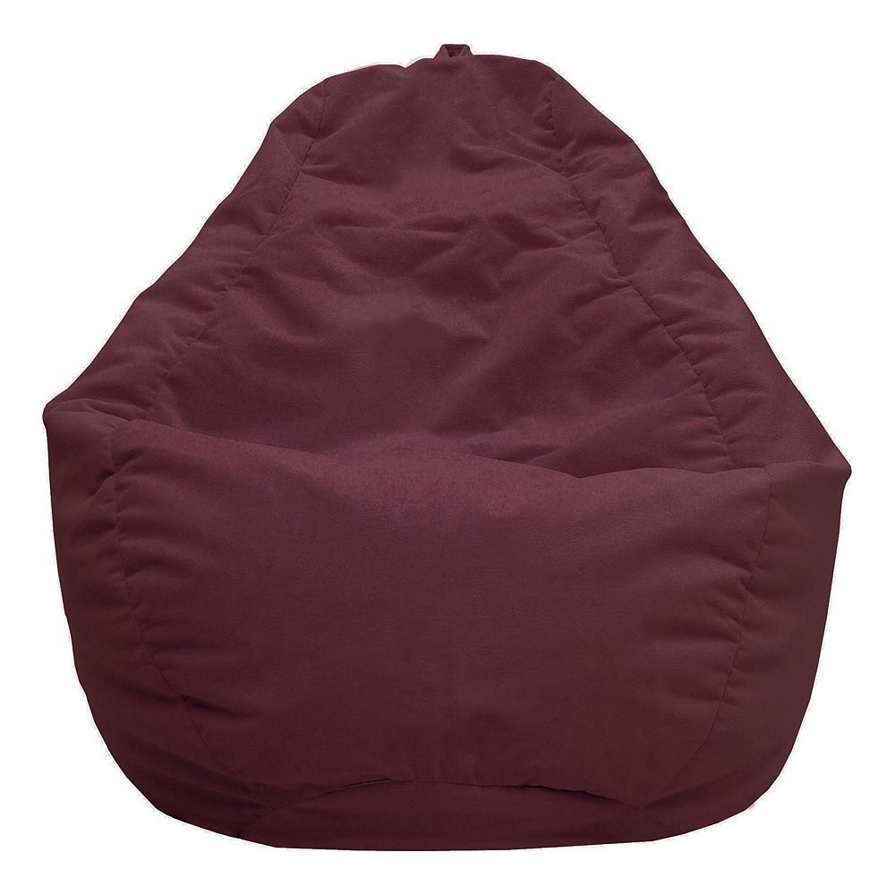 Large Teardrop Microfiber Faux Suede Bean Bag Chair Products