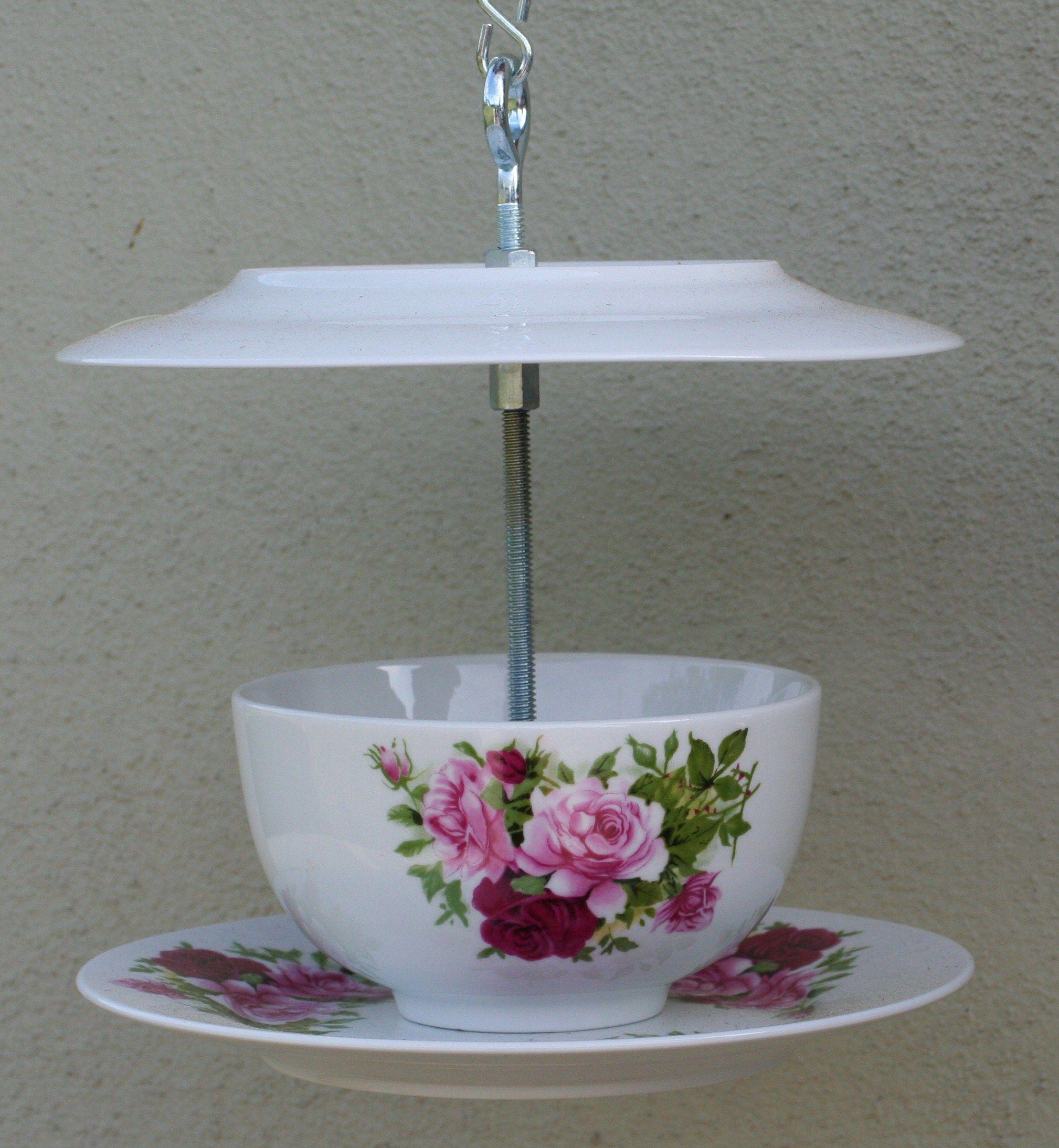 Birdfeeder; Another tea set.