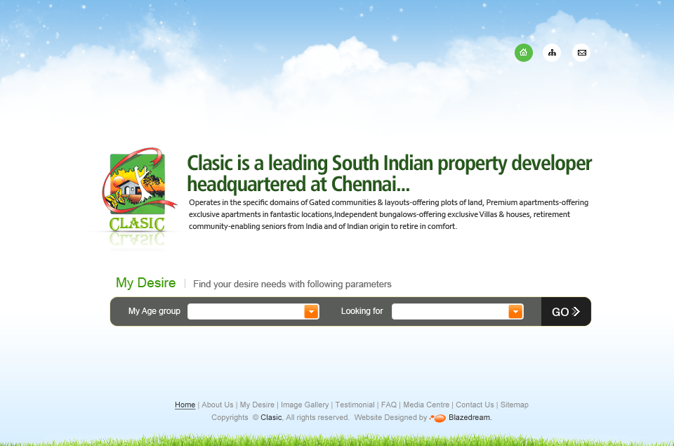 Clasic is a leading South Indian property developer