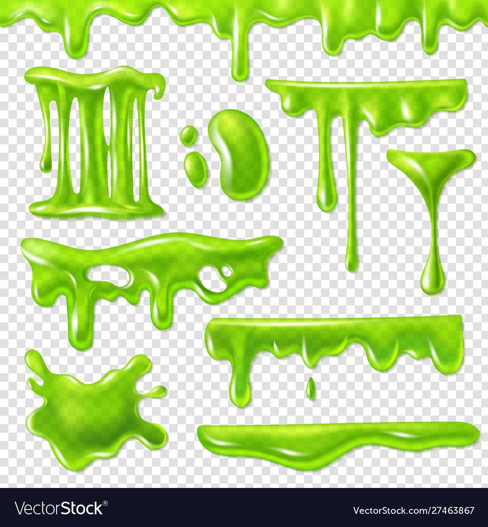 Realistic Green Slime Slimy Toxic Blots Goo Splashes And Mucus Smudges Halloween Liquid Decoration Borders 3d Isola Drip Art Graffiti Alphabet Graffiti Font