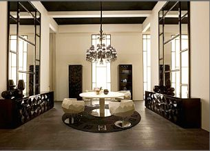 Bernini Arredamento ~ Actually love this style bernini dining table and crystal chairs