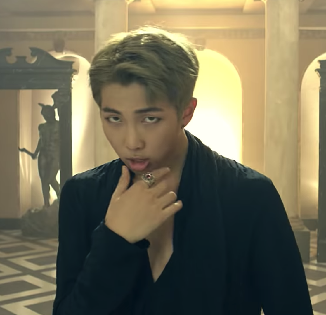 Namtiddies Namjoon Chest Blood Sweat Tears Namjoon