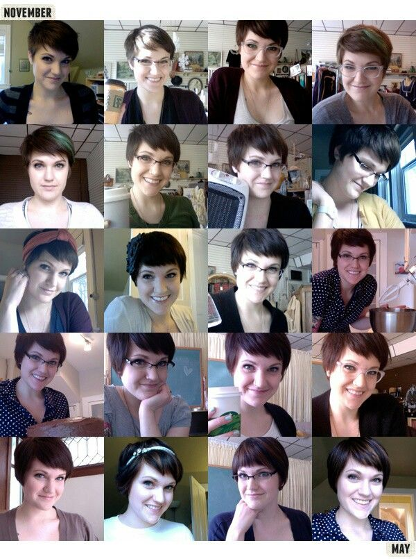 Stages Of Growing Out Growing Out Hair Grow Hair Grown Out Pixie