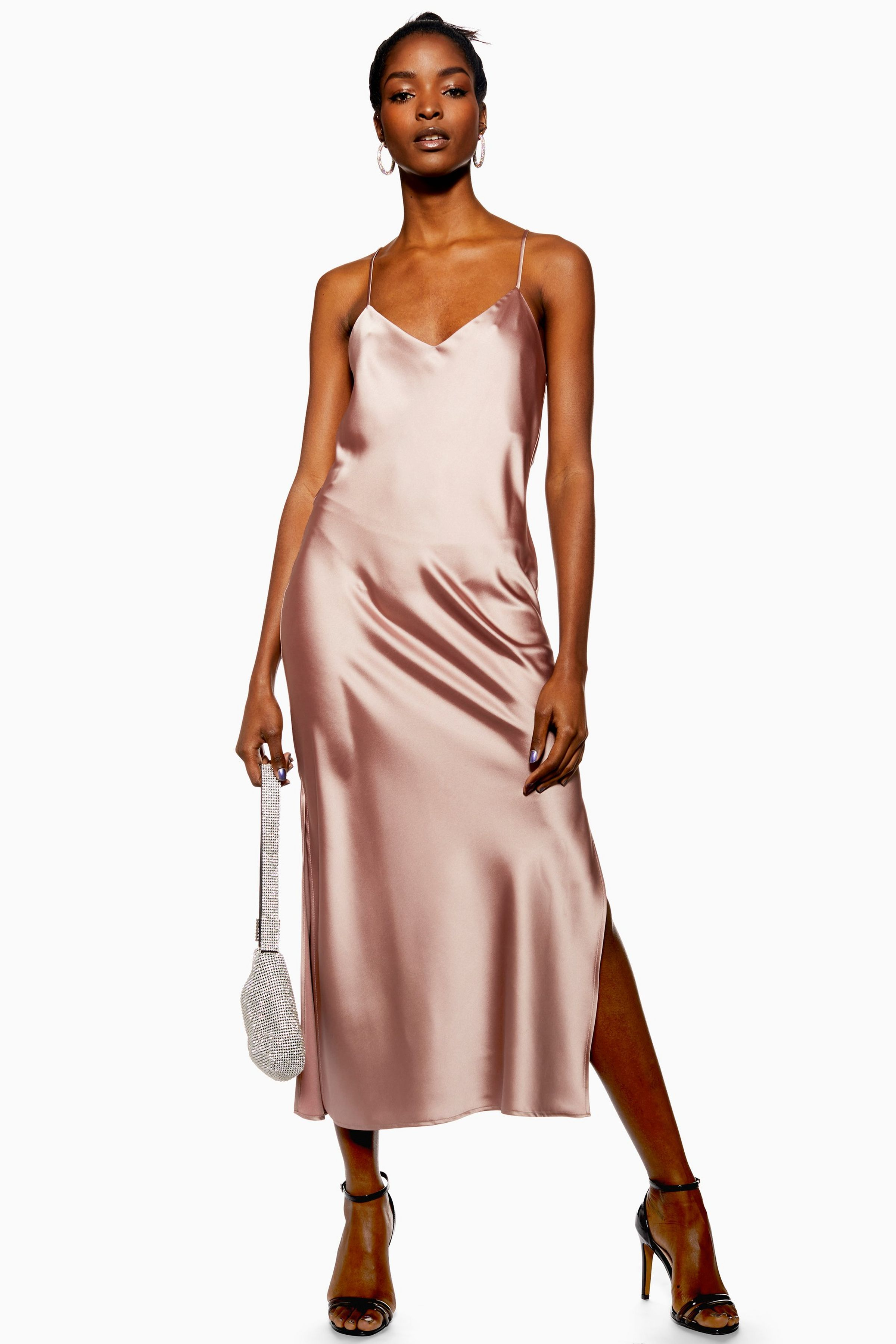 Carousel image 0 slip dress satin slip dress top shop