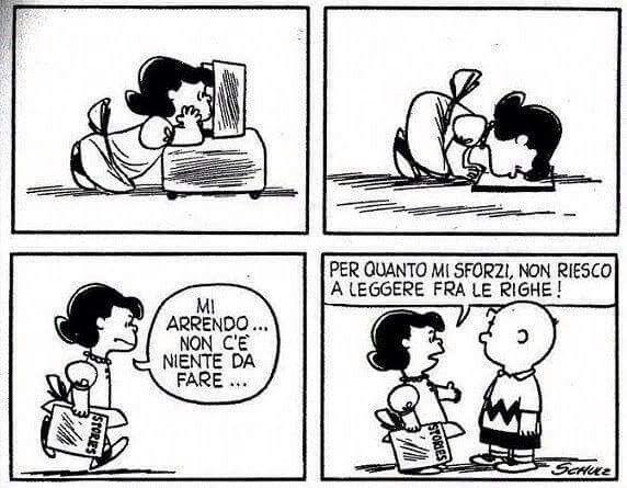 #lucy #peanuts #leggerefralerighe