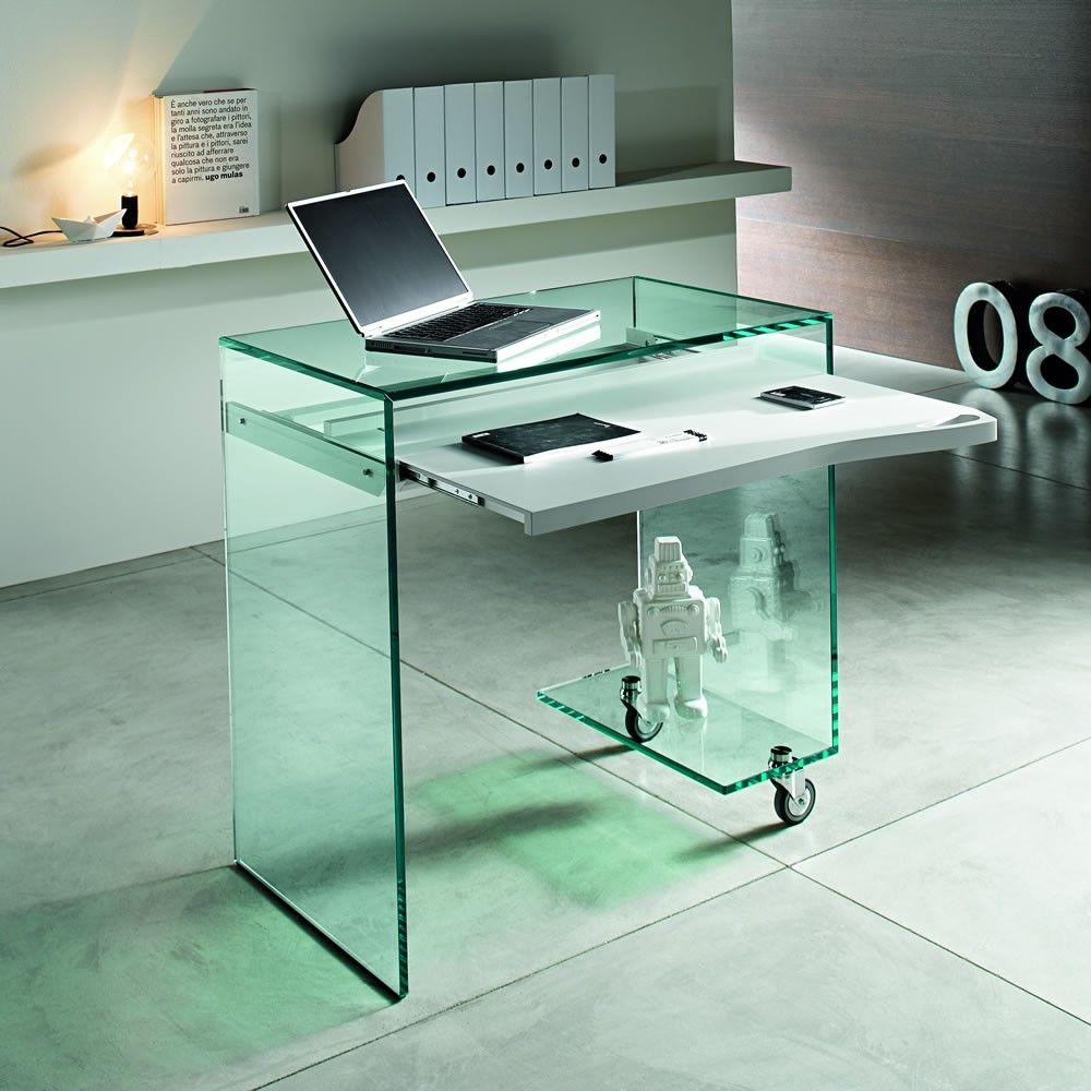 Why Glass Computer Desks Are The Trend Of This Year Glass Computer Desks Glass Desk Glass Office Furniture