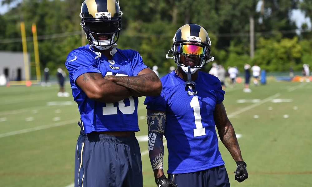 Rams 53 Man Roster Prediction Wide Receivers Wide Receiver Los Angeles Rams Usa Today Sports