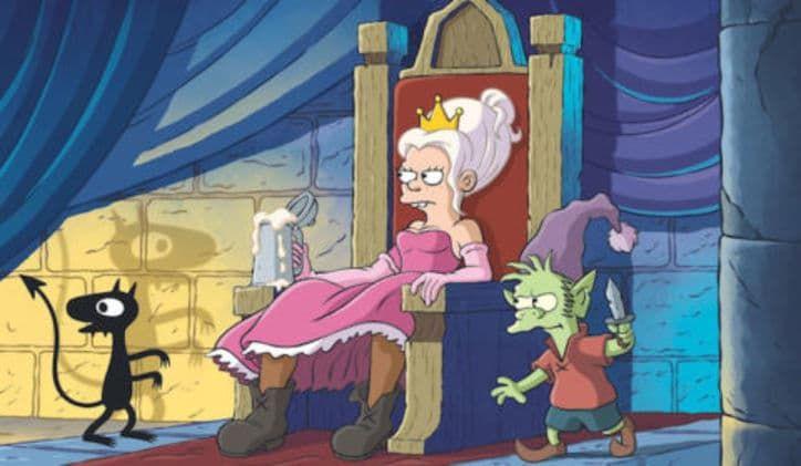 Disenchantment, la nouvelle série du papa des Simpson (Matt Groening) a son 1er teaser (vidéo) ! - Après Les Simpson, voici Disenchantment Ce teaser nous met direct dans le bain. Disenchantment, le nouveau bébé de Matt Groening – le créateur des Simpsons – débarque prochainement sur Netflix ! On a droit au tout premier teaser et il fallait bien qu'on vous montre ça. Pour rappel, Groening est le créateur de deux séries […]  L'article Disenchantment, la nouvelle série du papa des Simpson (Matt Groening) a son 1er teaser (vidéo) ! est apparu en premier sur Le Tribunal Du Net .