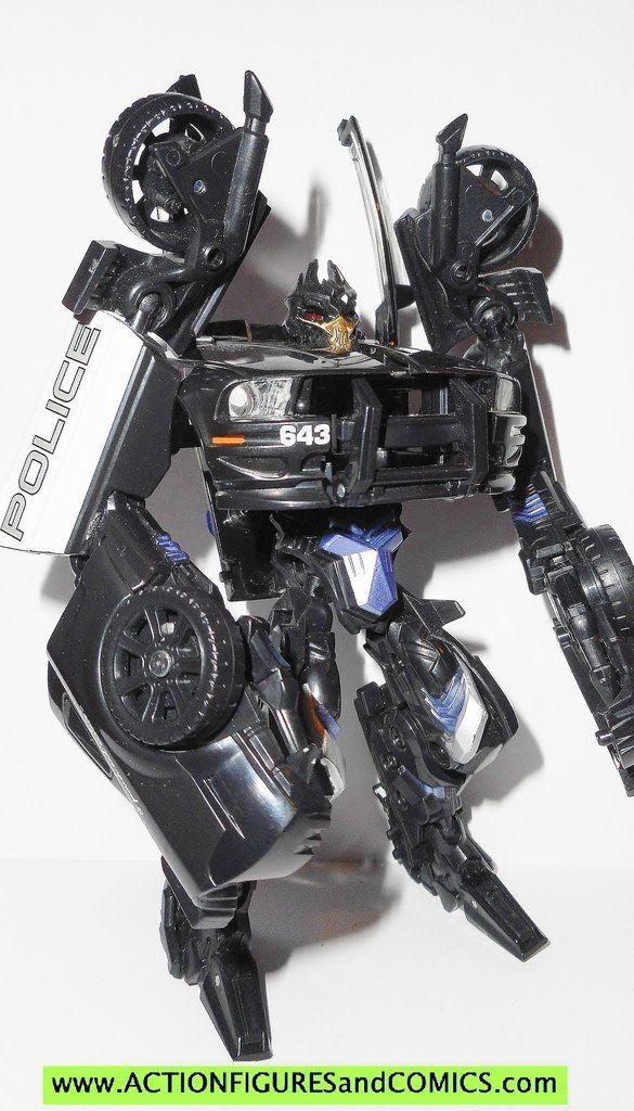 Transformers Movie Barricade Frenzy Mini Bot Figure 2007