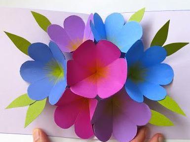 Изделия из бумаги цветной своими руками