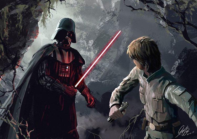Star wars, Darth Vader - https://es.pinterest.com/bigtoe142/