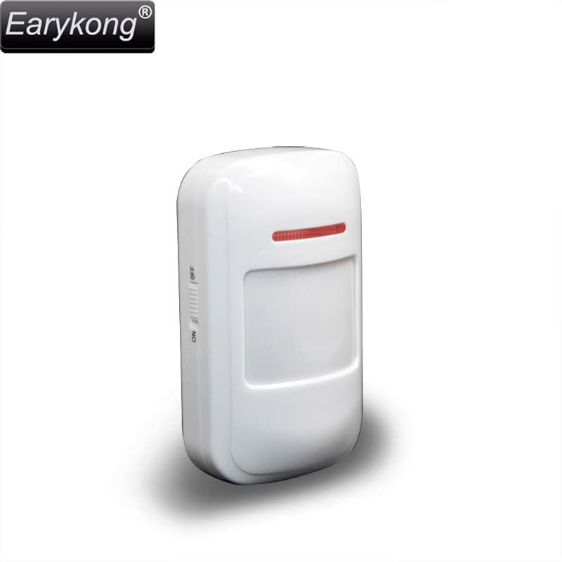NEW Earykong 433Mhz Wireless PIR Sensor Motion Detector For Wireless