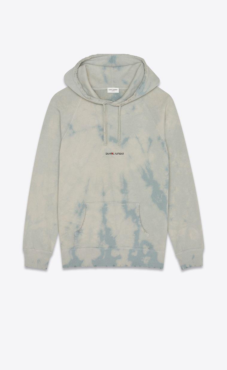 "Saint Laurent Rive Gauche"" tie & dye hoodie   Abbigliamento"