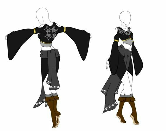 Basically An Outfit Idea Fantasy Clothing Anime Outfits Character Outfits
