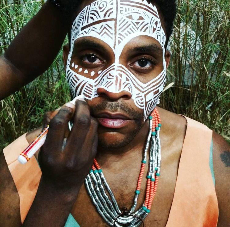 Yoruba+Ritual+Face+Painting+by+Laolu+featuring