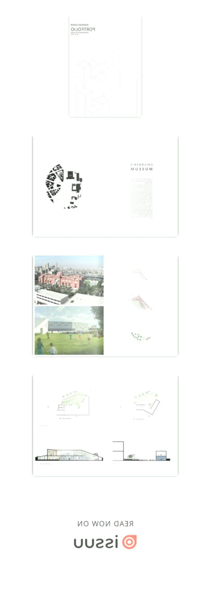 Marwah Garib S Undergraduate Architecture Portfolio
