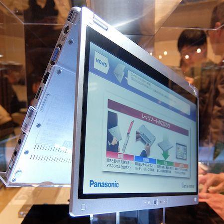 Panasonic Intros Cf Mx3 Convertible Laptop With Yoga Like Design Built In