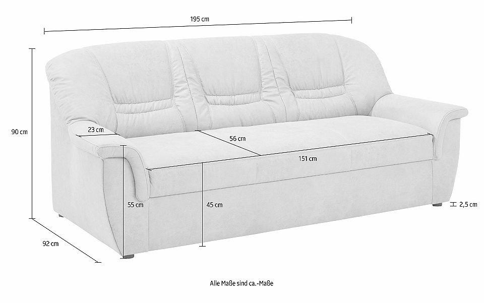 Home Affaire 3 Sitzer Zoe Mit Federkern Polsterung In 3 Qualitaten Jetzt Bestellen Unter Https Moebel Ladendirekt De 3 Sitzer Sofa Sofas Wohnzimmer Sofa