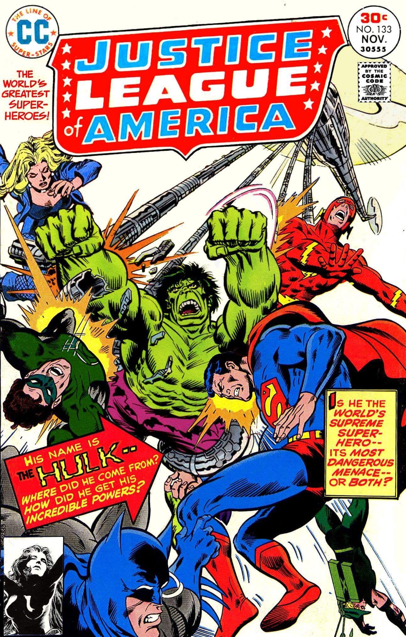 The Hulk Vs The Justice League Dc Comics Vs Marvel Comic Book Heroes Galaxy Comics