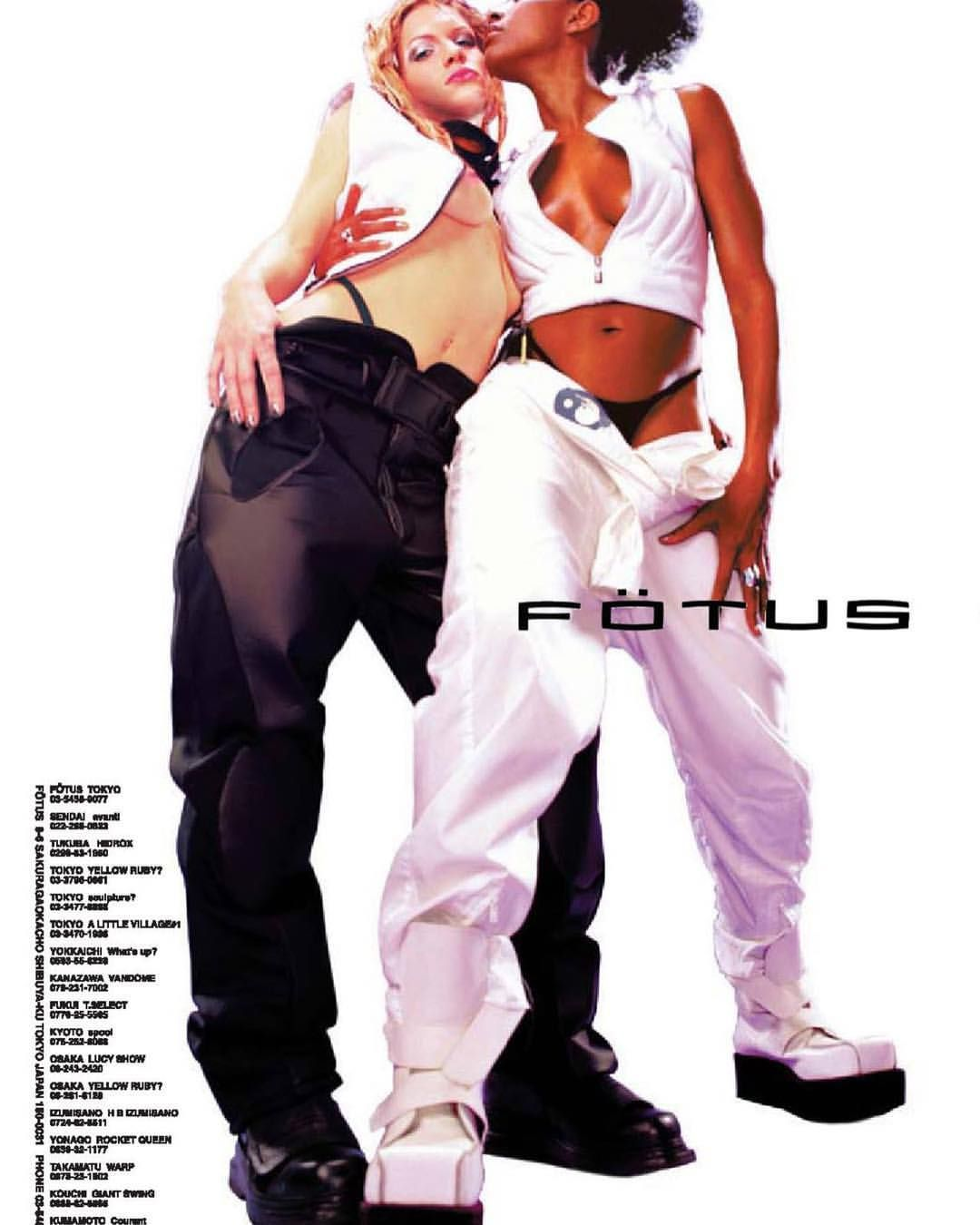 Fötus Clothing ad (2000) #y2k | ✨✨the glitz and glam