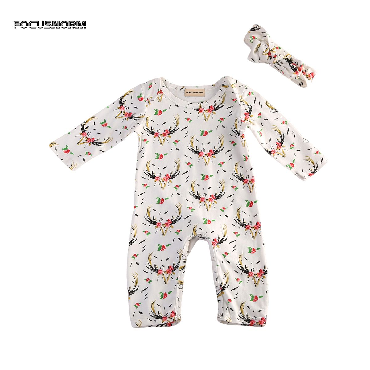 Cute Christmas Floral Romper Jumpsuit Tag a friend who would love