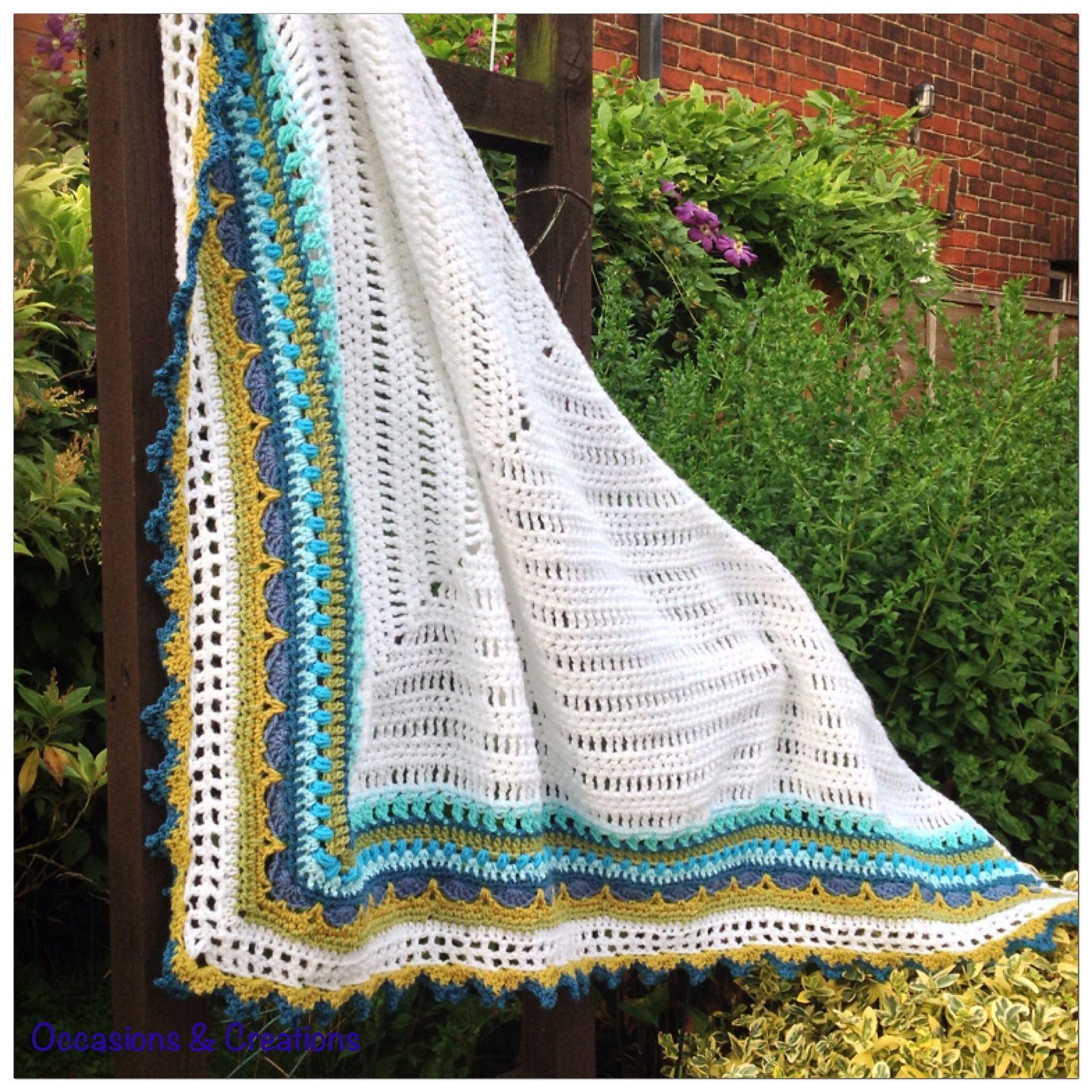 Sunday Shawl pattern by Alia Bland | Ganchillo