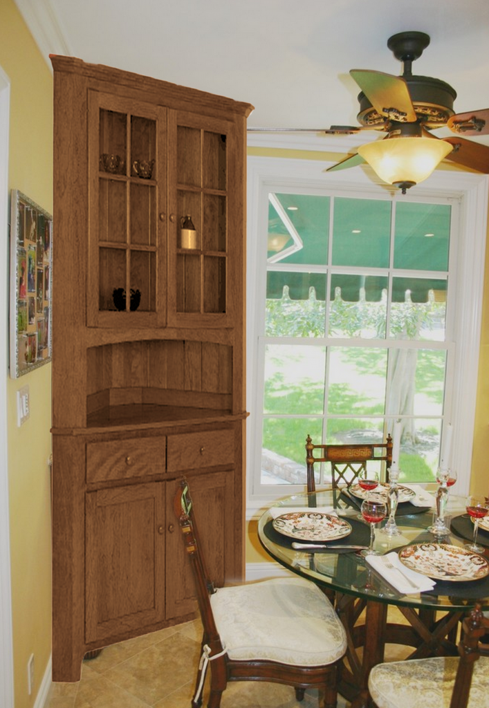 5 Easy Ways To Organize A Display Worthy Corner Hutch