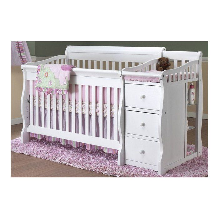 Princeton Elite 4 In 1 Convertible Crib And Changer Baby