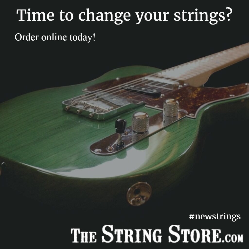 Time to change your strings?