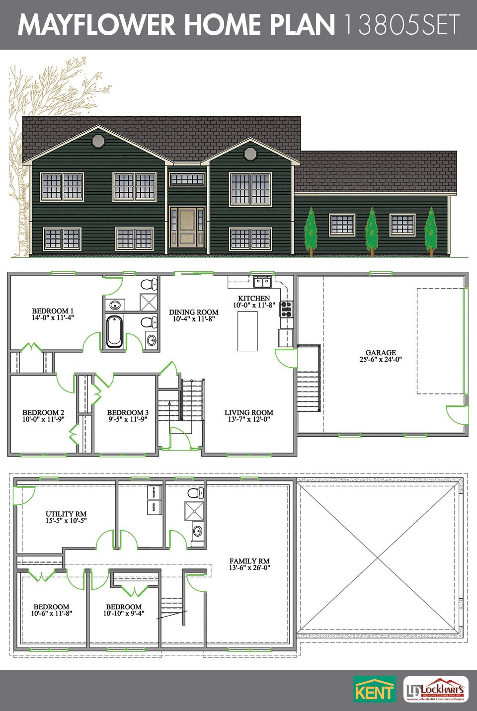 Mayflower Home Plan House Plans Floor Plans Kent Building