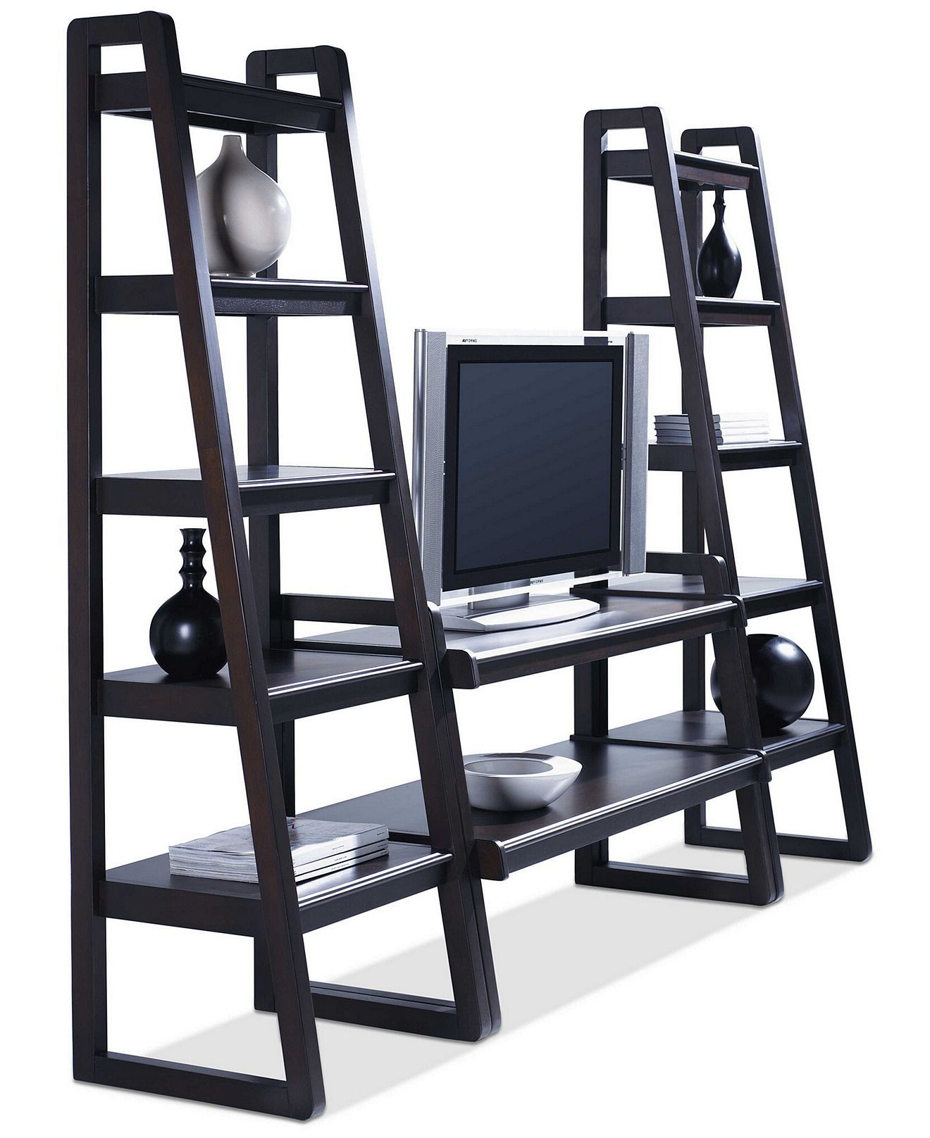 Metro 3-Piece Entertainment Center - Media Storage Furniture - furniture - Macy's