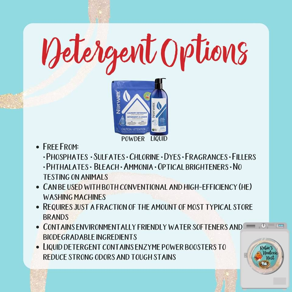 The Norwex Laundry Detergents Have Been Newly Formulated And Are