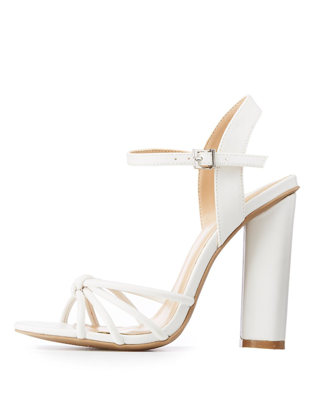8ab9da724cc Knotted Strappy Sandals