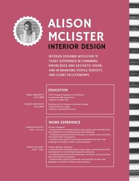Desygner Resume Template / CV Template / Modern CV Design - Don\'t ...