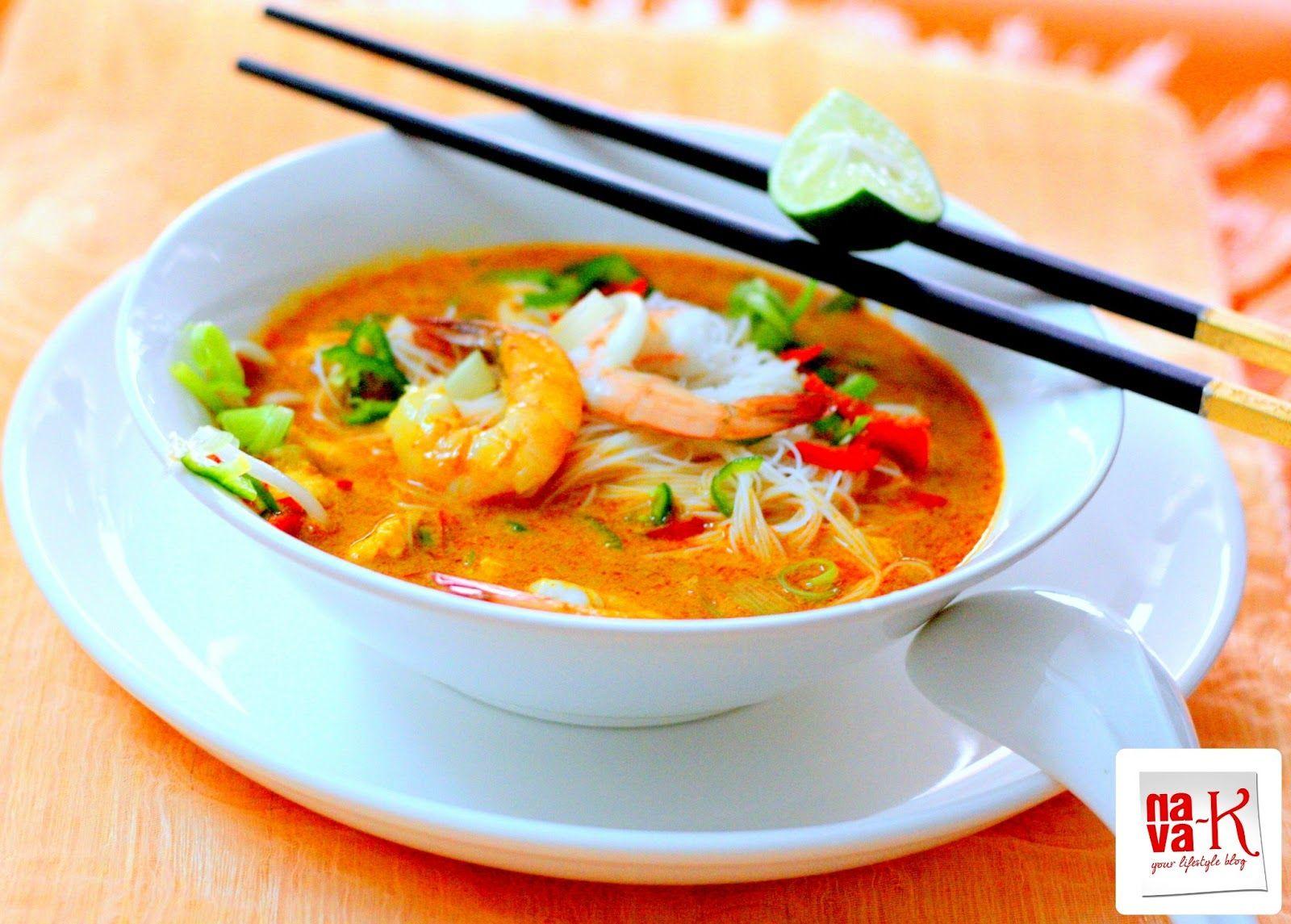 Prawn Curry Laksa