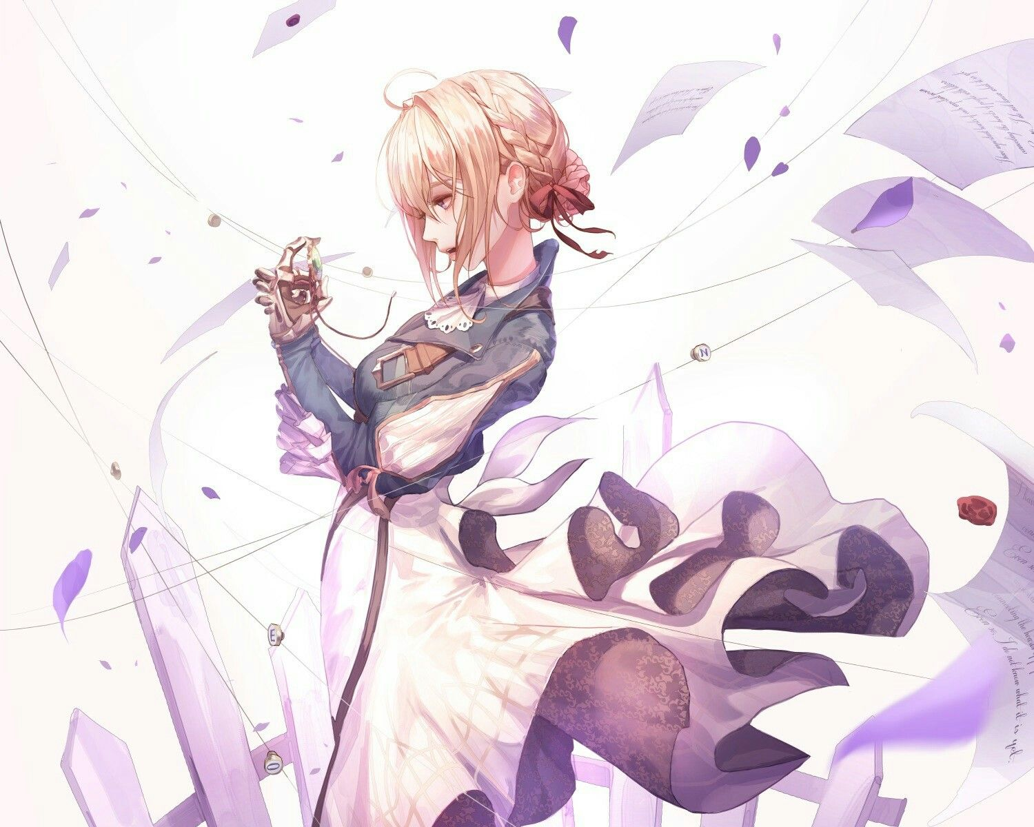 Pin by manachan on violet evergarden pinterest violets anime