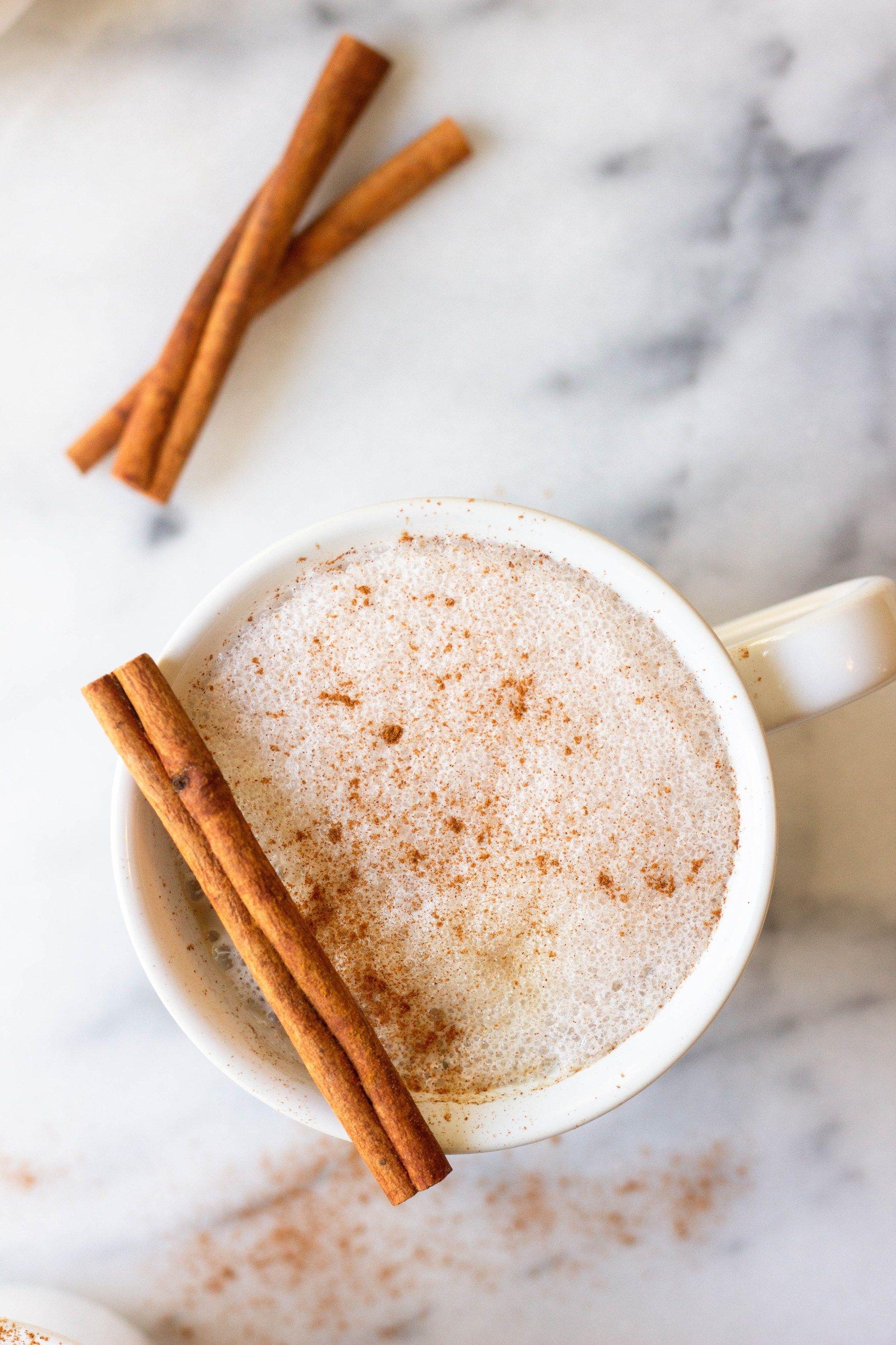 Better Than Starbucks 3 Ingredient Frothy Vanilla Latte