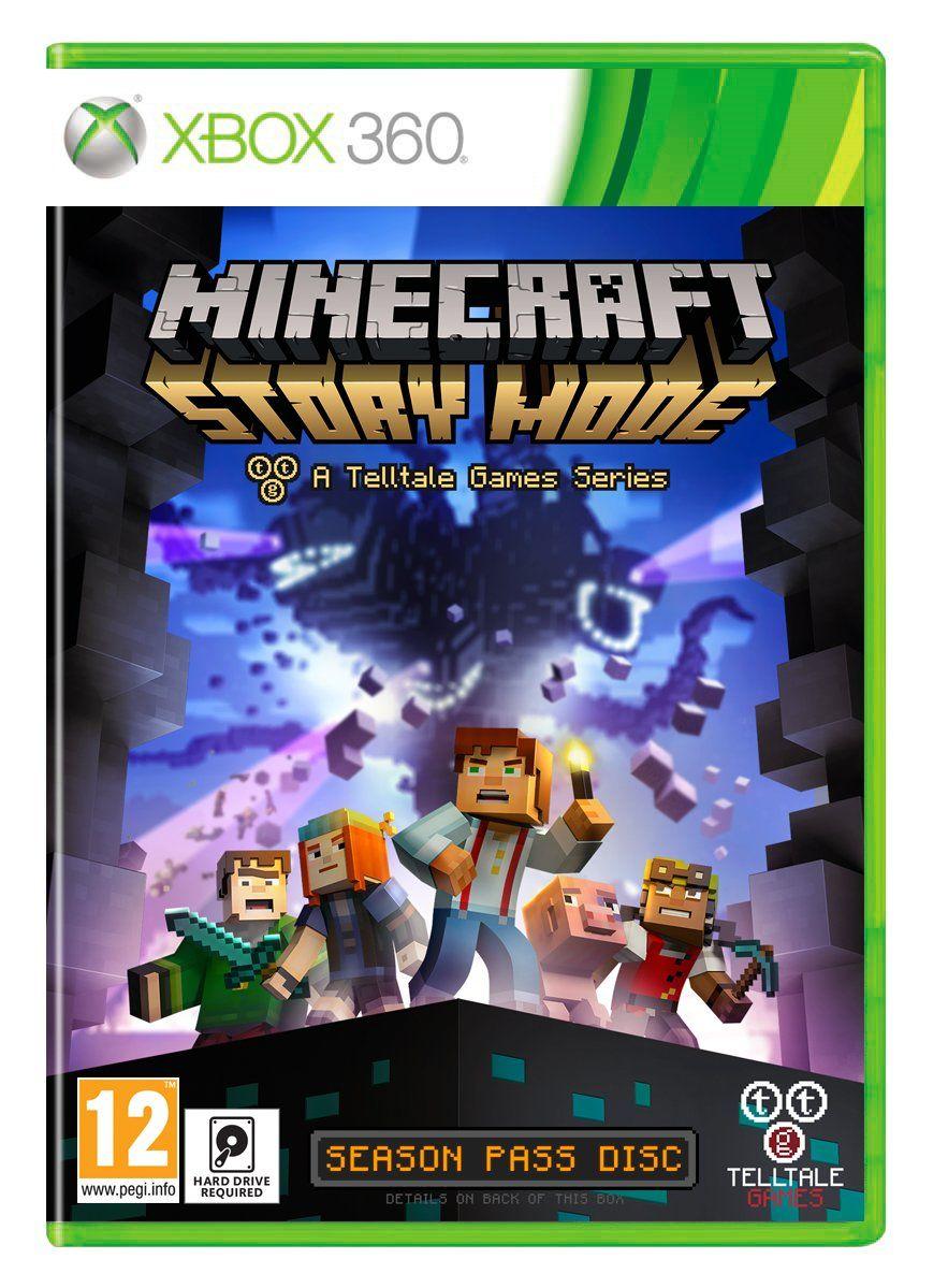 Minecraft Story Mode A Telltale Game Series Season Disc Xbox - Minecraft pc mit ps3 spielen