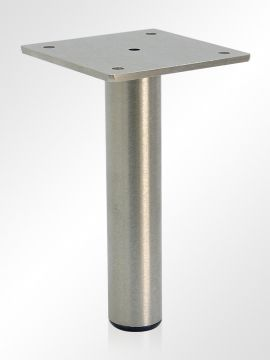 Metal Furniture Legs And Hardware 5 Or 6 Brushed Chrome 25 Each