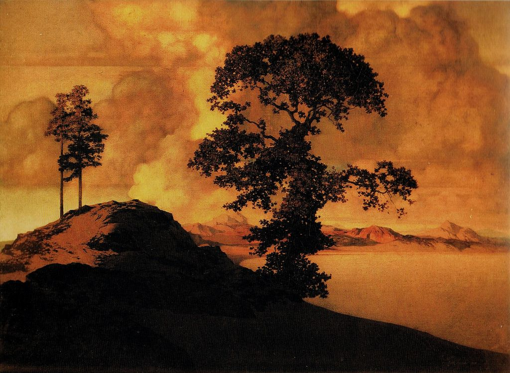 The gallery for --> Maxfield Parrish Landscape