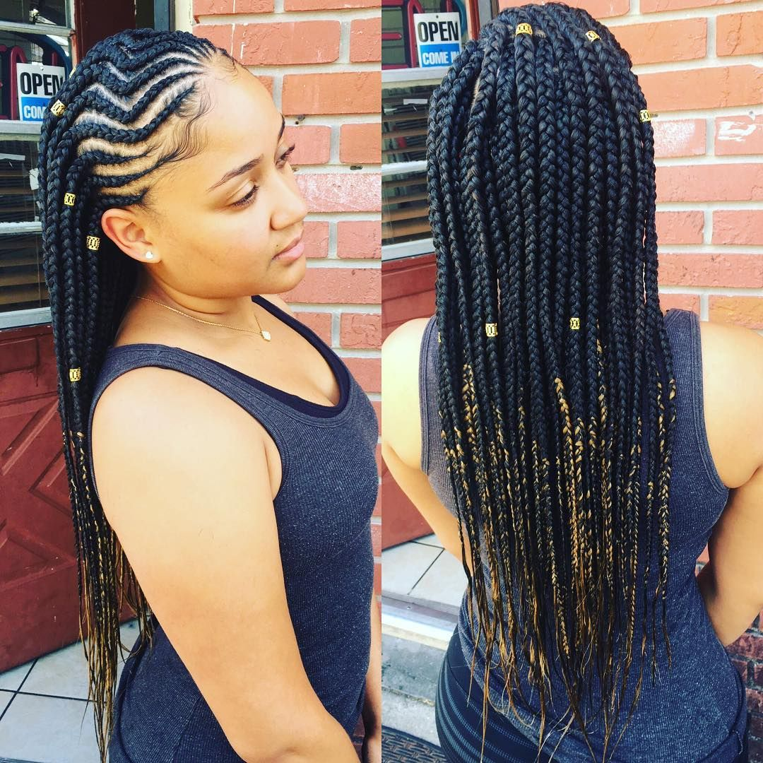 26++ Two braids with hair down black hairstyles trends
