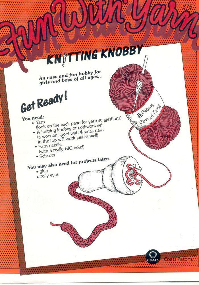 Free knitting knobby - corking pattern. Free pattern | Craft Ideas ...