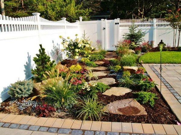 Ideas Terrace Greenery Rockery Grass Fence Whitewood Lawn Http