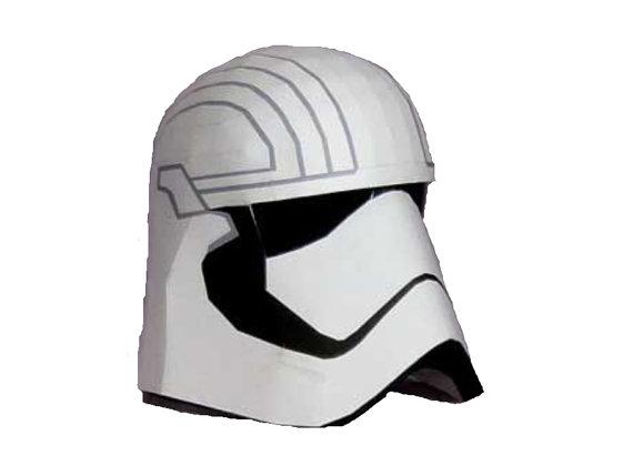Capitan Phasma\'s helmet Star Wars DIY 1:1 Full scale Life-size ...