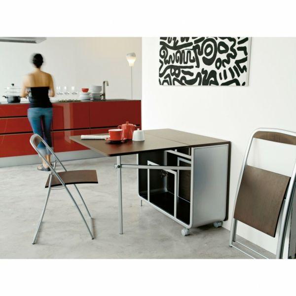 Designs Creatifs De Table Pliante De Cuisine Archzine Fr Table Pliante Petite Salle A Manger Pieds De Table A Manger