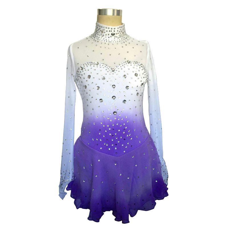 cf954c9ba731e Free Shipping] Buy Best Customized Costume Ice Figure Skating Dress ...