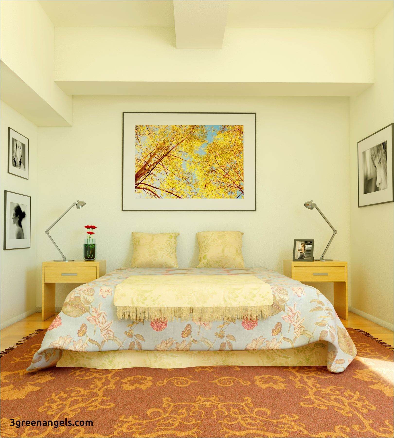 Wall Designs for Bedroom - http://3greenangels.com/wall-designs-for ...