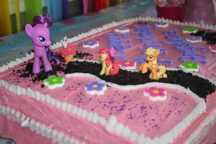 Cute My Little Pony Cake Easy And Homemade With Images My