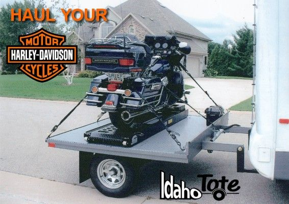 Idaho Tote Dolly Tow Your Atv Motorcycle Golf Cart Behind Your Rv